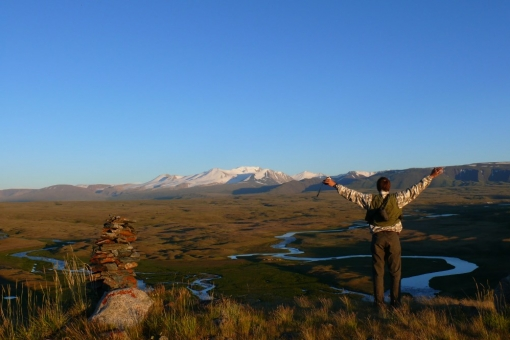 the Ukok Plateau - perfect place for rest
