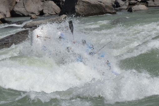 the Katun river rafting